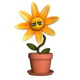 Smiley Flower 1 vector illustration