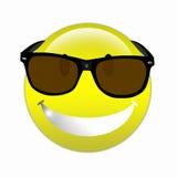 Smiley freddo Fotografia Stock Libera da Diritti