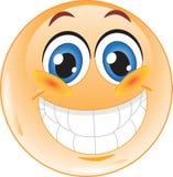 Smiley. Freude. Stockfoto