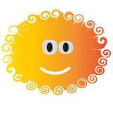 Smiley, fun, spiral, bright color, happiness Royalty Free Stock Photos