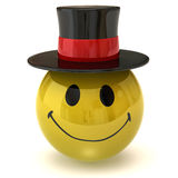 Smiley gentleman Royalty Free Stock Images