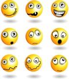 Smiley-Gesicht `s Lizenzfreie Abbildung