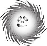 Smiley /Ghost-Dreamer, wektor/ Zdjęcie Royalty Free