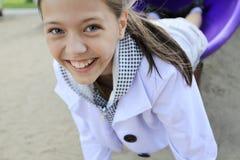 Smiley girl Stock Photos
