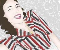 Smiley Girl fotografia stock