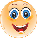 Smiley. Glück. Stockfoto