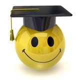 Smiley graduate Royalty Free Stock Images