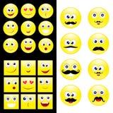 Smiley grande do grupo Imagens de Stock Royalty Free