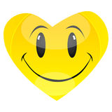 Smiley heart Stock Photos