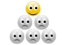 Smiley heureux Image stock