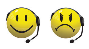 Smiley Hotline (25 MP) Royalty Free Stock Images
