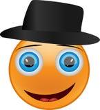 Smiley i hatten Royaltyfria Foton