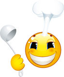 Smiley icon. Cook Stock Photo