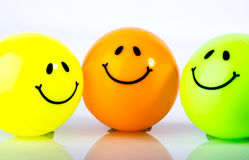 Smiley icon Stock Images
