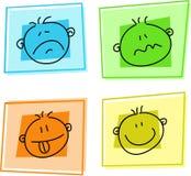 smiley ikony Fotografia Stock