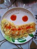 Smiley jajko zdjęcia royalty free