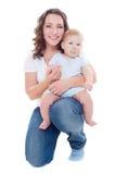 smiley jej macierzysty syn obraz stock