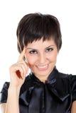 smiley kobieta Obraz Royalty Free