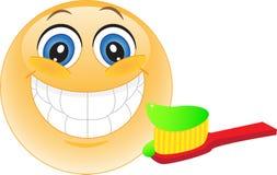 Smiley. Lächeln. Zahnheilkunde. Lizenzfreies Stockbild
