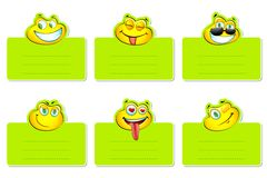 Smiley Label Stock Images