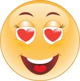 Smiley in Liefde Stock Afbeeldingen
