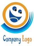 Smiley logo Royalty Free Stock Photos