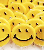 Smiley lollipops Royalty Free Stock Photography