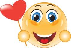 Smiley in Love Stock Photo