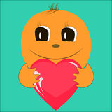Smiley with love Royalty Free Stock Photo