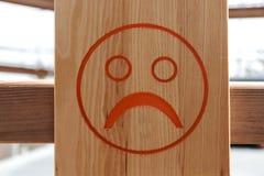 foto de Smiley malheureux illustration stock Illustration du réflexion 5811200