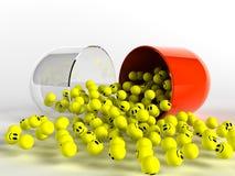 Smiley medizinisch Lizenzfreies Stockfoto