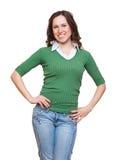 Smiley model Stock Photography