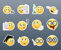 Smiley nerd Stock Images