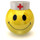 Smiley nurse Stock Image