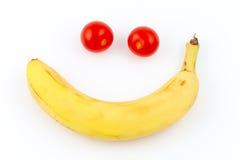 Smiley orgânico Imagens de Stock Royalty Free