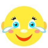 Smiley płacze i śmiechy Obraz Royalty Free