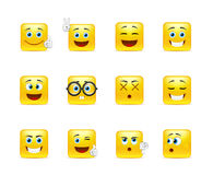 Smiley Pack Royalty Free Stock Photography