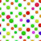 Smiley pattern Stock Image