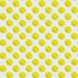 Smiley pattern Royalty Free Stock Photography