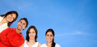 Smiley people Royalty Free Stock Photos