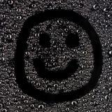Smiley pieno di bolle Fotografia Stock