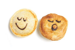 Smiley Pies Royalty Free Stock Image