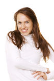 Smiley pretty young girl Royalty Free Stock Photography
