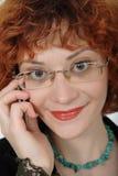 Smiley Redhead 2 Royalty Free Stock Photos