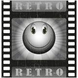 Smiley retros Imagem de Stock