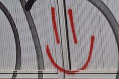 Smiley rosso Fotografie Stock Libere da Diritti