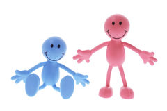 Smiley Rubber Figure Royalty Free Stock Images