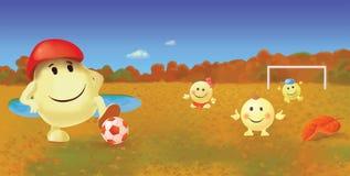 Smiley seasons. September Stock Photo