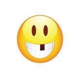 Smiley Smile sem dente Fotos de Stock