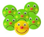 Smiley-Spielwaren lizenzfreie stockbilder